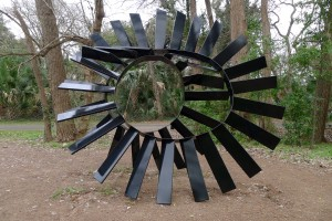Austin, TX Outdoor Sculpture in a Park