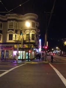 San Francisco -Near Roxie Cinema