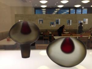 2 Glass Vases MFAH
