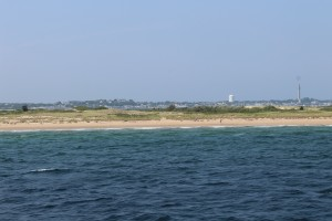 Provincetown, MA -Beach from the Ferry