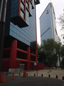 Modern Buildings of Mexico City