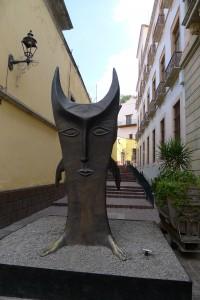 Street Sculpture in Guanajuato, MX