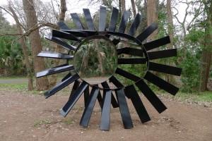 Austin, TX Outdoor Sculpture in a Park