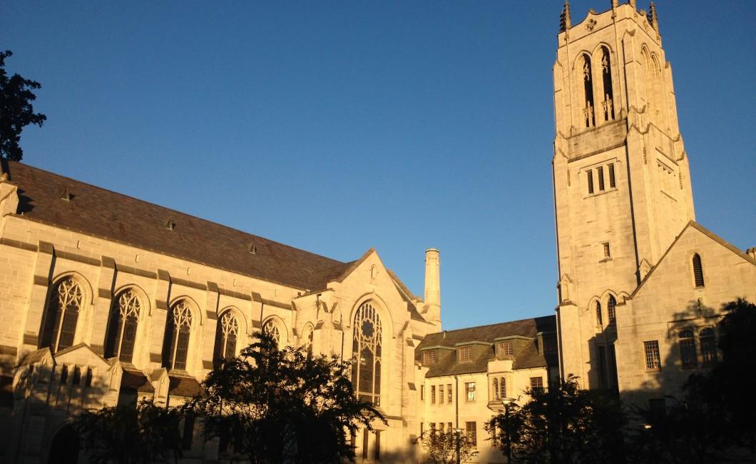 Church near MFAH in Houston TX Museum District