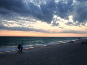 Beach near Anna Maria Isl FL