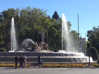Fountain, Madrid Spain