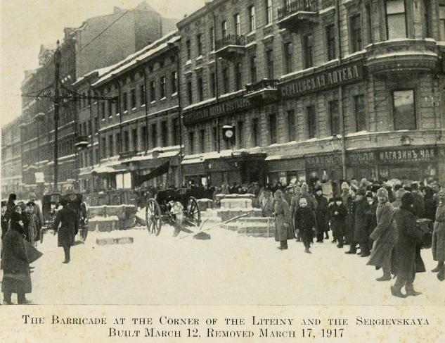 Barricade of Liteiny