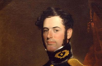 Lee at age 31 in 1838, as a Lieutenant of Engineers in the U.S. Army