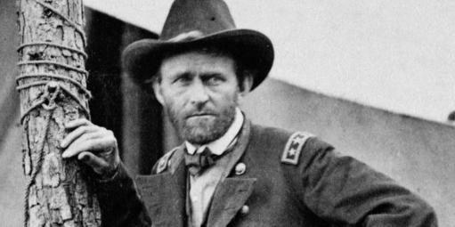 General Ulysses S Grant at Cold Harbor