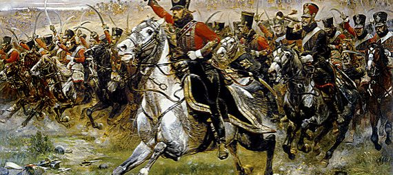 Charge of the French 4th Hussars at the Battle of Friedland, 14 June 1807
