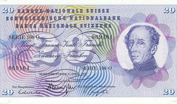 20 francs note (1956)