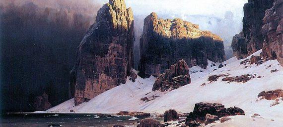 Eugen Bracht, The Shore of Oblivion, 1889