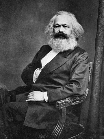 Portrait of Karl Marx (1818–1883)