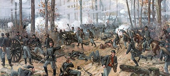 American Civil War, produced by L. Prang & Co.